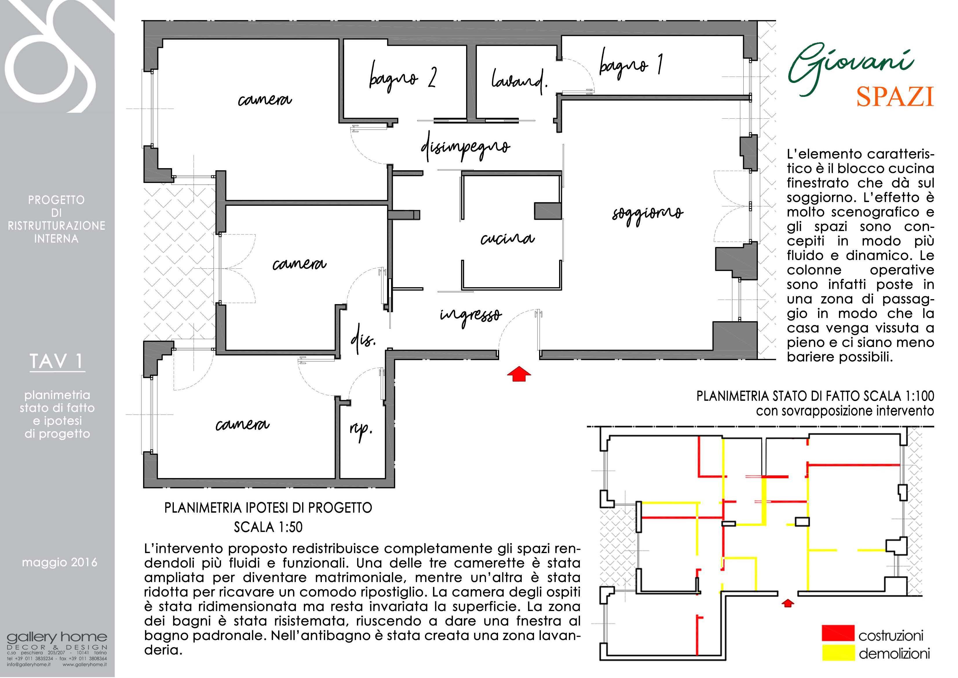 Progettazione interni torino rinnovare casa in stile for Progettazione spazi interni