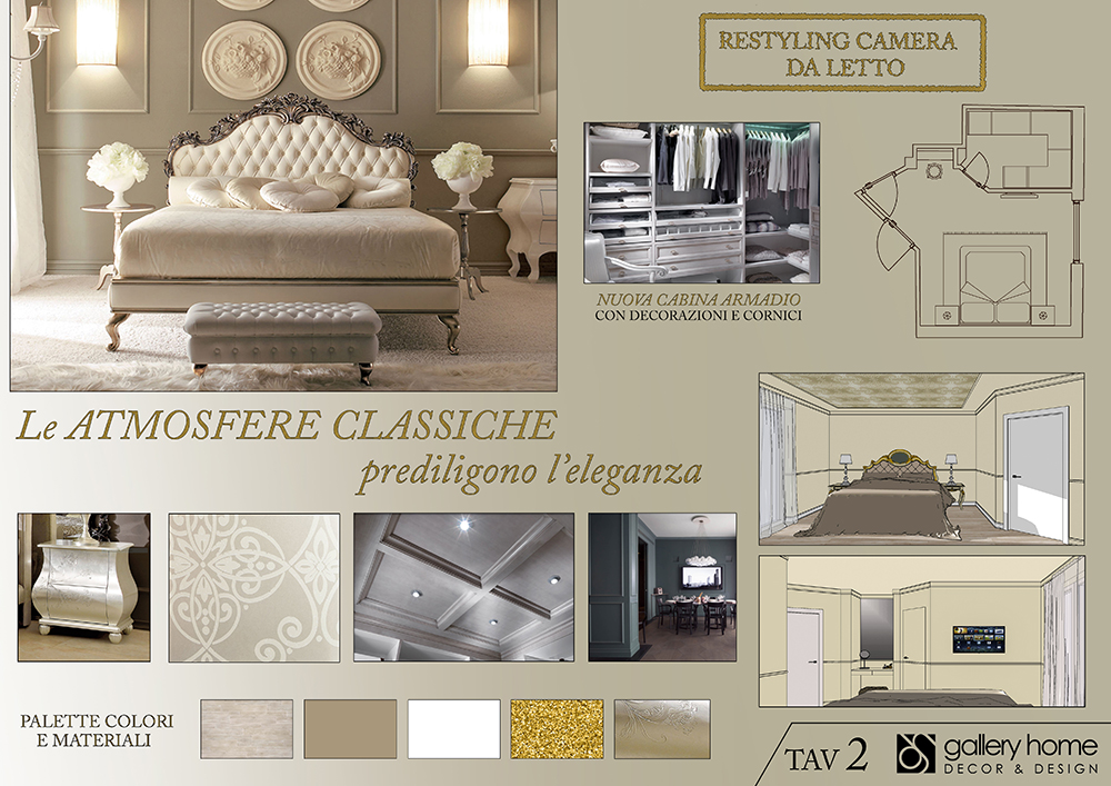 Ristrutturare Camera Da Letto Classica Progetto Restyling